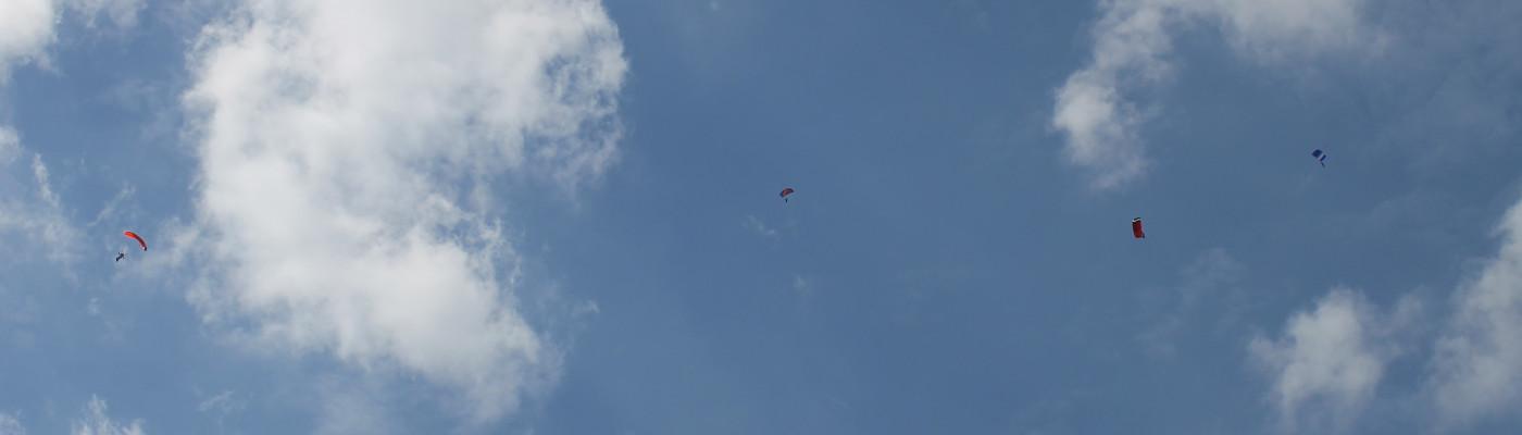 Fallschirmsprung in Rheine